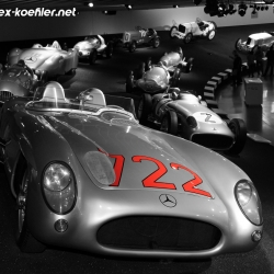 722 Mercedes Museum Stirling Moss Mille Miglia